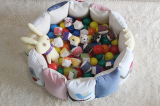 A Fabric Ball Pool_Pastel colors and logos_