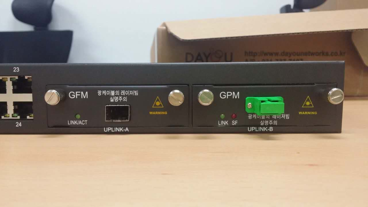ELDORA_2124 L2 Ethernet and GPON switch