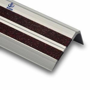Colorful Heavy Duty Slip Resistant Metal Stair Tread Covers