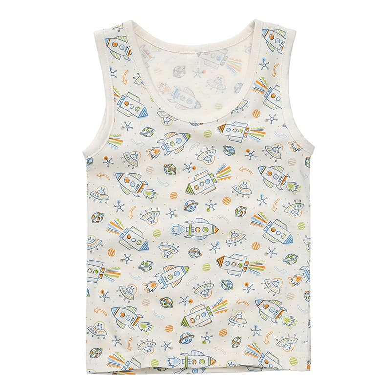 Withorganic kids underwear_sleeveless shirts and panty