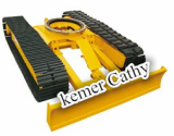 digging arm loader steel track undercarriage