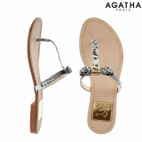 -Agatha- Scottie Ribbon Sandal