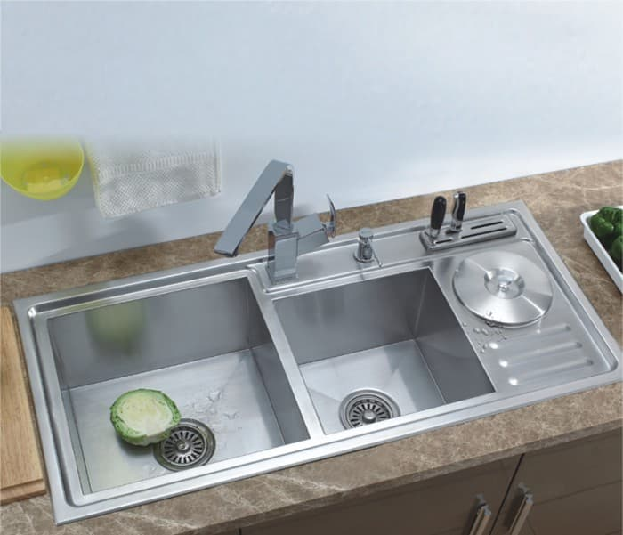 Commercial stainless steel sink tradekorea - Commercial bathroom sinks stainless steel ...