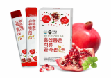 Pomegranate collagen jelly containing red ginseng