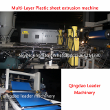 3 layer co_extrusion  PP PE PSEVA sheet production line