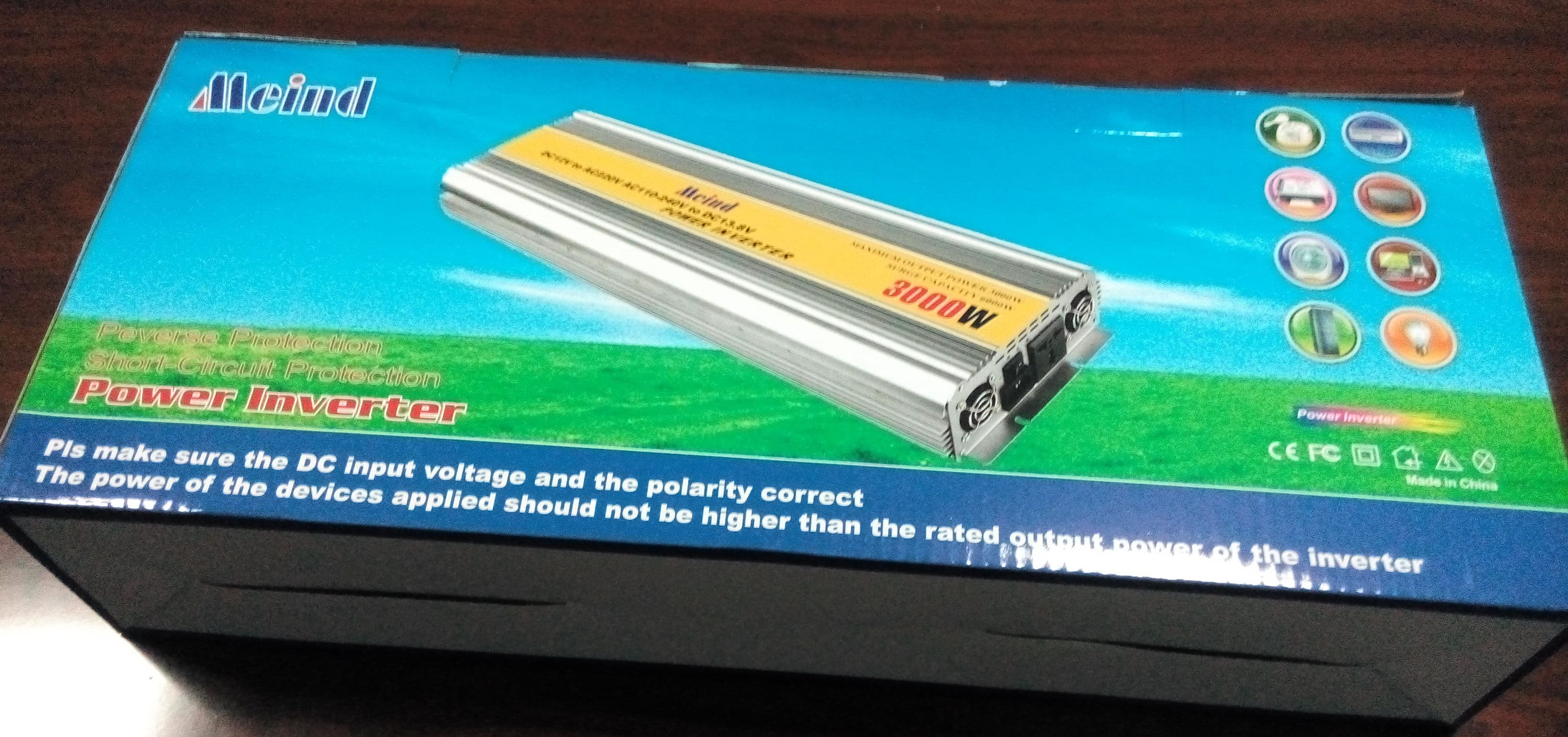 3000w Modified Sine Wave Power Inverter With Charger From