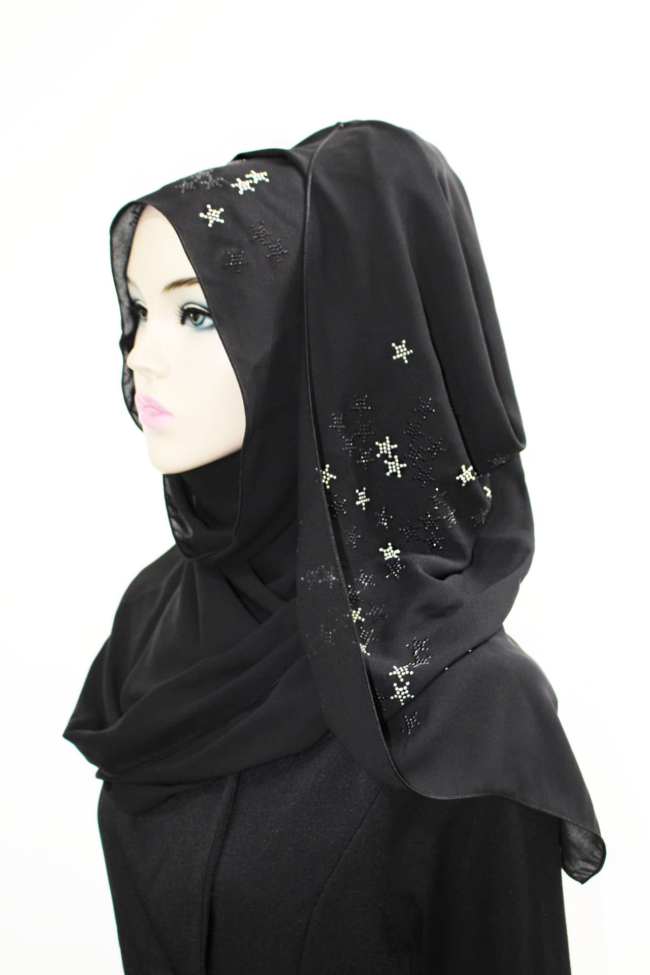 Th150_The twelve__Stylish Design Hijab_Niquab
