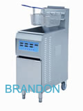 Gas fryer- upright deep fat fryer