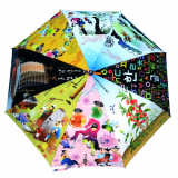 umbrella Korea Folk painting _No_ 1444488_