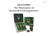 SHANGPREE The Masterpiece of Korean Red Ginseng Extract