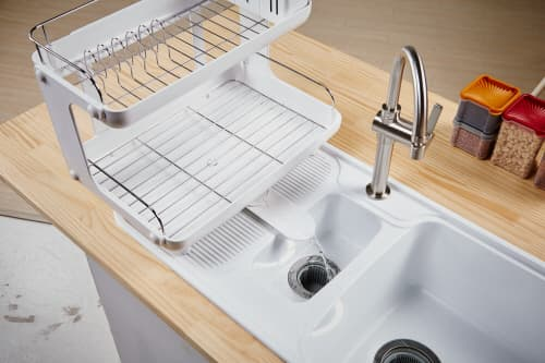 Curved Dish Rack