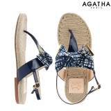 -Agatha- Hemp Sol Slipper
