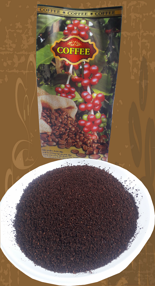 Pure ground coffee from Vietnam