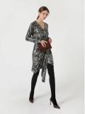 Korean luxurious knit midi dresses