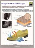Waterproofed & Air-ventilated Upper