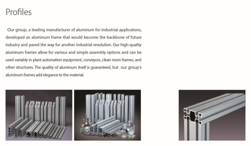 Aluminum Extrusion_profile_ tube_ from Korea