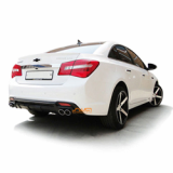 Dual Rear Diffuser for Chevrolet Cruze 13+