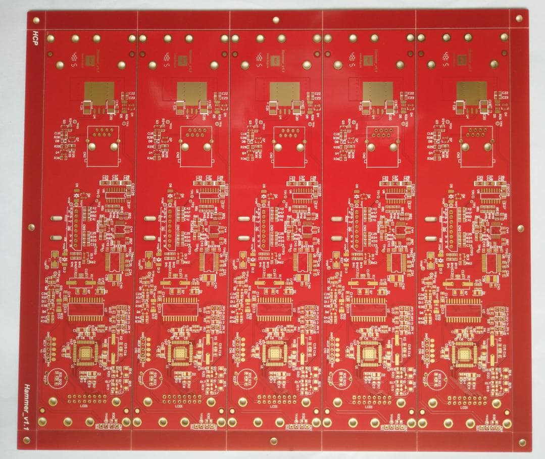 63 mil thickness double side Printed Circuits Board (PCB