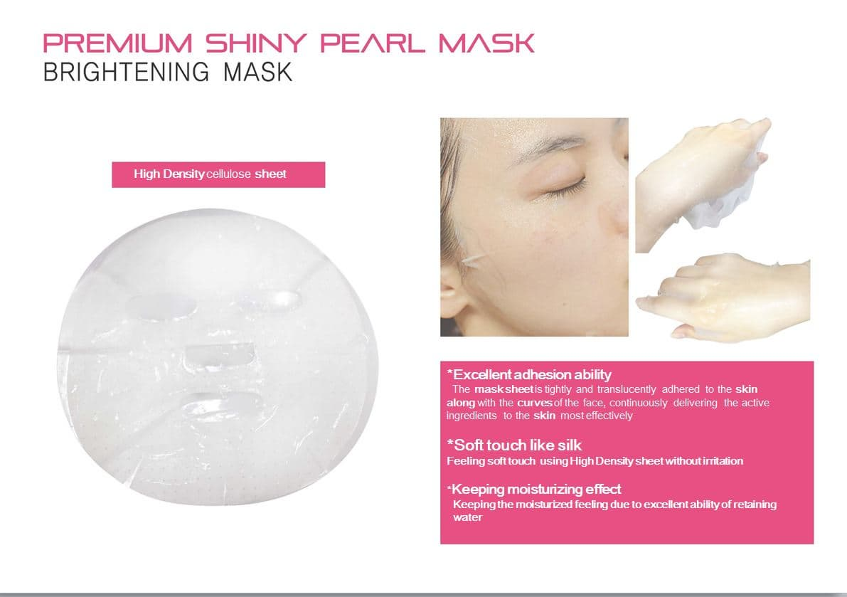 Premium Pearl 3types Design Mask