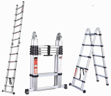 Telescoping Ladder Double Using Telescopic Ladder 3.2m Aluminum Folding Ladder