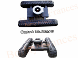 Rubber tracked undercarriage for OEM