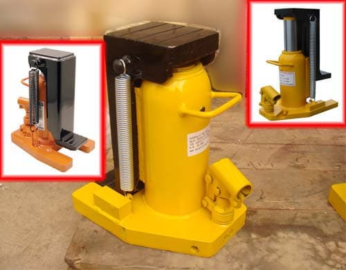 Hydraulic toe jacks durable quality
