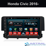 1024_600 Honda In Dash Car Multimedia Player for Civic 2016