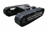 custom design steel track undercarriage system 1-60 ton