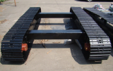 complete steel track undercarriage