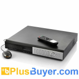 32 Channel DVR Security System with 1TB HDD and 4 SATA HD Docks