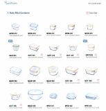 Baby Meal Container(By Glasslock)