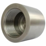 stainless ASTM A182 F316l threaded cap