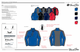 Outdoor Sportwear Jacket, Shirts, Pants with seamsealing and welding