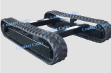 rubber track undercarriage rubber track frame