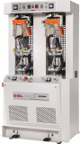 D_682B one cold and one hot backpart molding machine