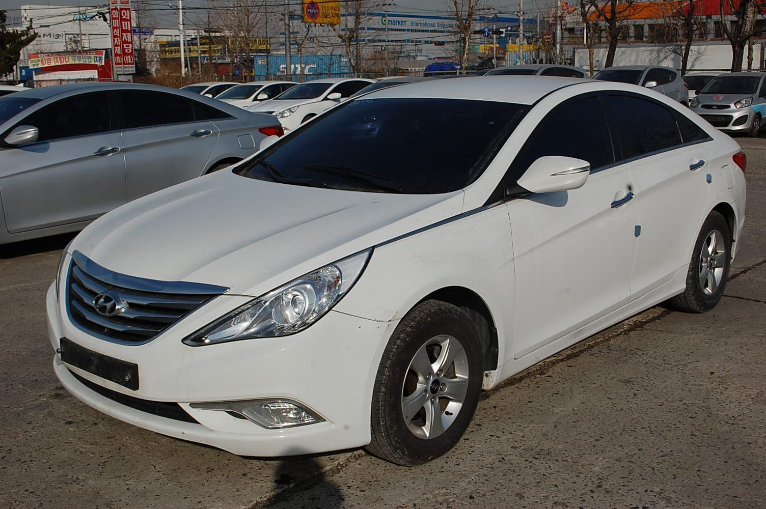 is fits itm pc image hyundai dam racer lip under spoiler front loading air sonata