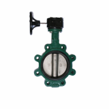 Lug Body Butterfly Valve Gear Type