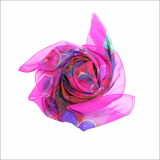 _DAYSYOUNG_SCARF_ONE_0G_SILK SCARF_ SQUARE SCARF