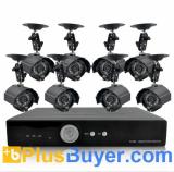 H264 DVR + 420 TVL Weatherproof IP Camera + 1TB HDD