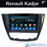 Android GPS Navi Renault Kadjar Kitkat systems Radio Player