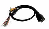 CCTV cable with RJ45