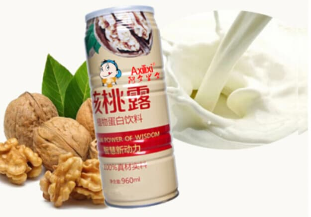 Vegetable protein drinks protoplasm walnut milk