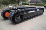 45 ton steel track undercarriage system