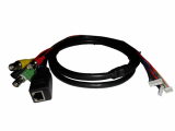 CCTV cable with BNC connector