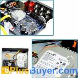 SecurONE - H.264 DVR + 4 Security Cameras + 500GB HDD
