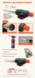 KOVICA MANUAL KING TORCH_ KS_1009_ GAS TORCH_ KING TORCH