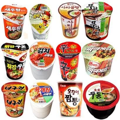 Korean Cup Instant Noodle Nongshim Korean Cup Ramen