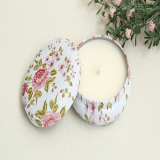 ANGE Blooming Tin Candle