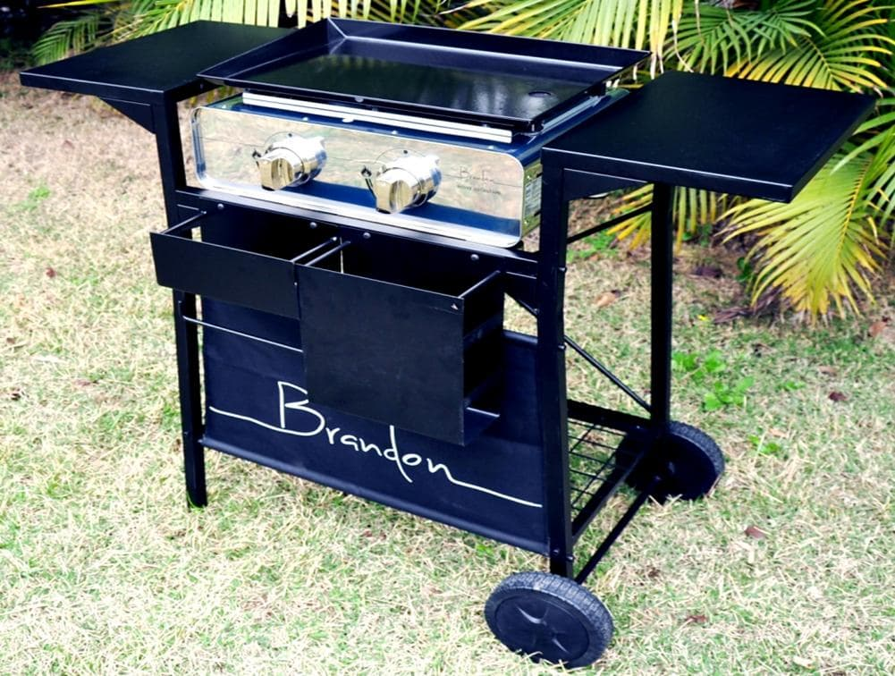 Outdoor Griddle Grill ~ Gas plancha griddle grill outdoor barbeque from brandon