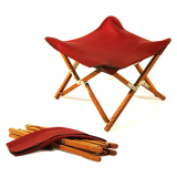 Leather folding chairs _L_M_S__ folding leather stool